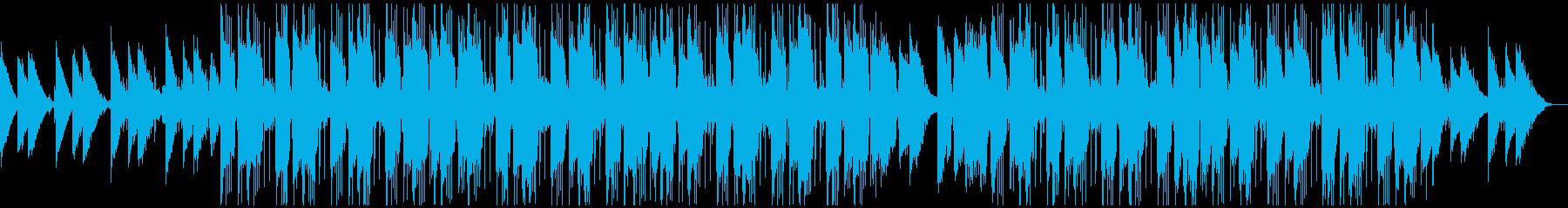 ローファイビート_ファンキー&チルの再生済みの波形