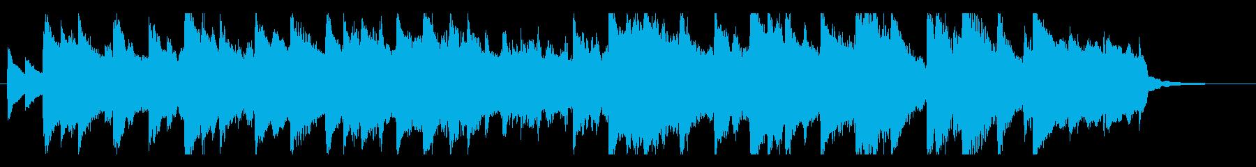 和風モダンなジングル・キラキラ・POPの再生済みの波形