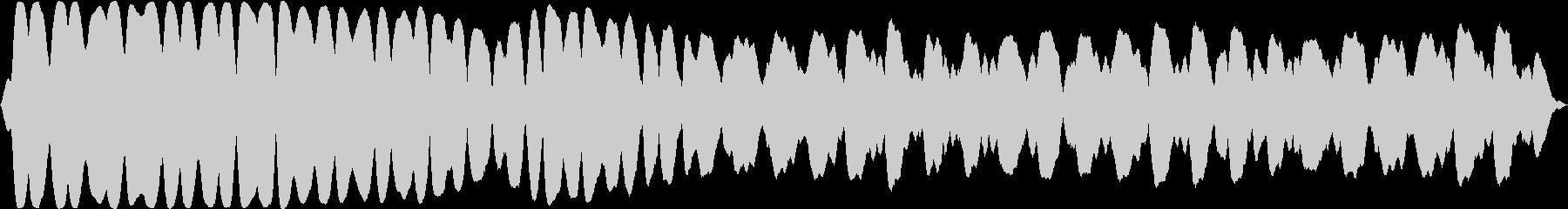 廃棄された宇宙ステーション内部の不穏な音の未再生の波形