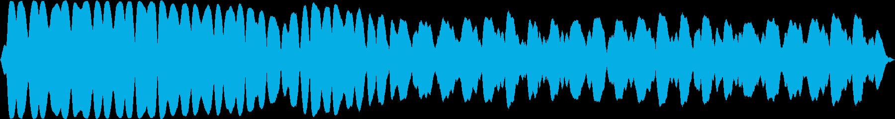 廃棄された宇宙ステーション内部の不穏な音の再生済みの波形