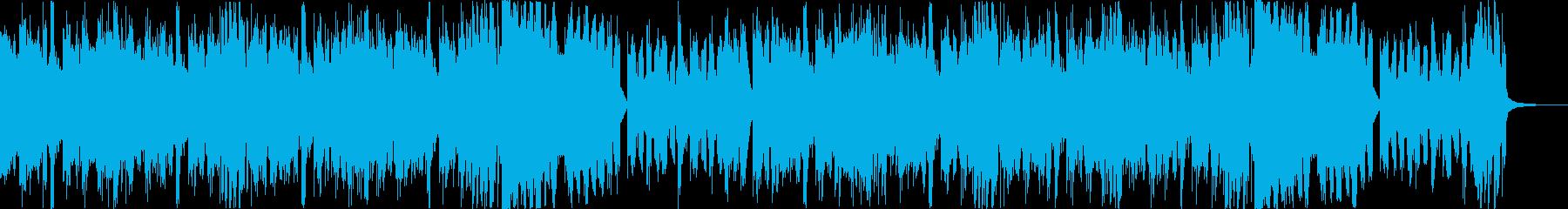 スタイリッシュ・アグレッシブエレクトロeの再生済みの波形