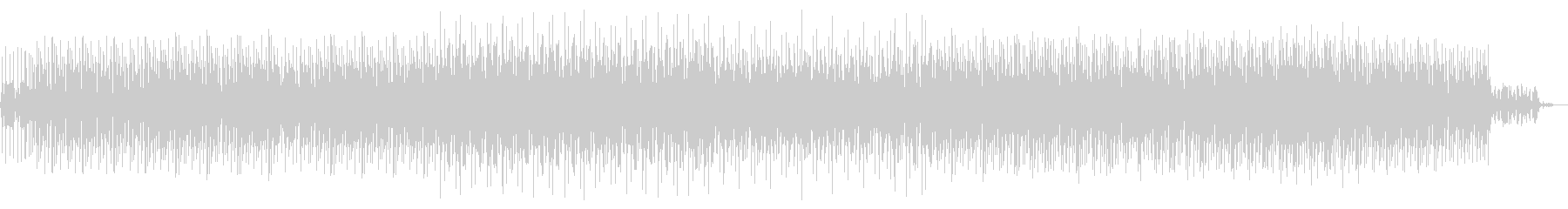お洒落BGM綺麗系ハウス7分BGM専用の未再生の波形