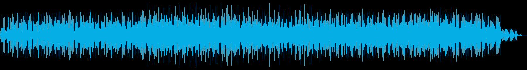 お洒落BGM綺麗系ハウス7分BGM専用の再生済みの波形