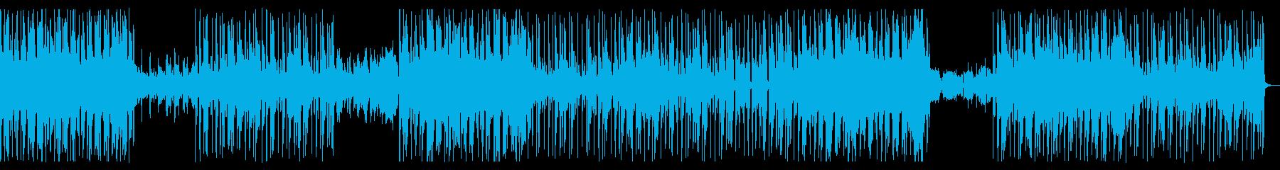 Neo Soul系のおしゃれなインストの再生済みの波形