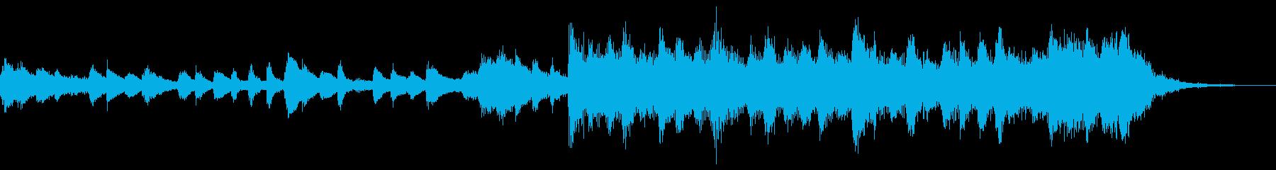 感動壮大ポジティブオーケストラエピックeの再生済みの波形