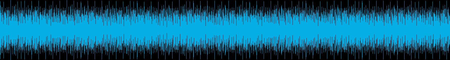 和風ビートとヒップホップの融合の再生済みの波形