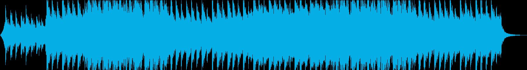 印象に残るメロディのピアノストリングス③の再生済みの波形