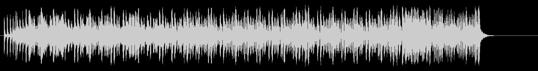 陽気なリゾート風レゲエ/ポップの未再生の波形