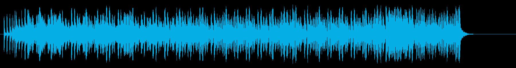 陽気なリゾート風レゲエ/ポップの再生済みの波形