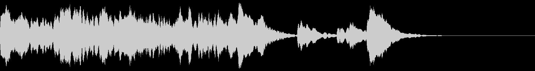 神秘的なクリスタル音05- ジングルCMの未再生の波形
