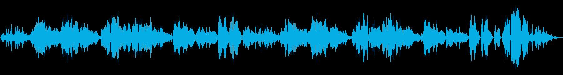 疾走感のあるカンツォーネ・ナポレターナの再生済みの波形
