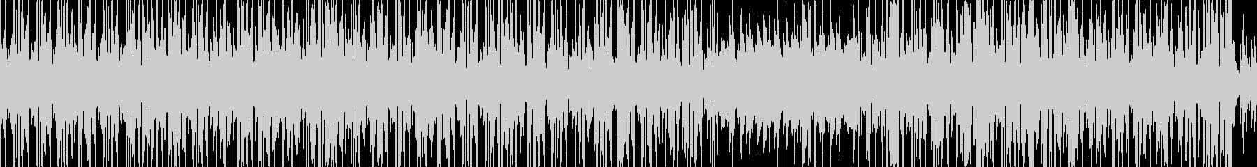 お洒落なピアノとヒップホップのビートの未再生の波形