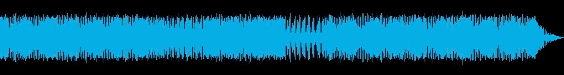 ダンス、テクノ。コンピューターまた...の再生済みの波形