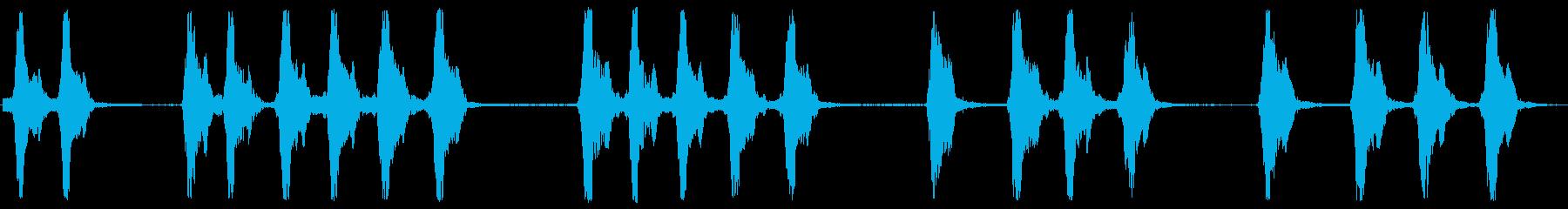 犬の樹皮の再生済みの波形