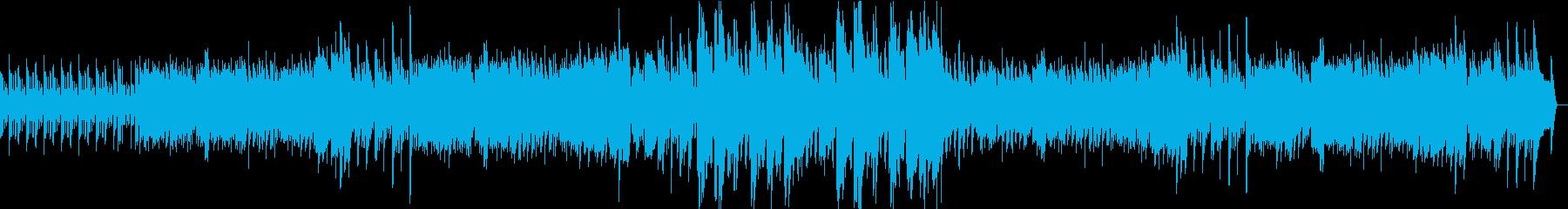 ほのぼのとしたBGMの再生済みの波形
