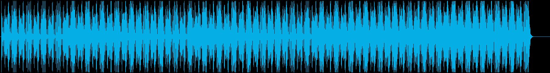 ポップな中に不安や緊張感☆ハロウィンの再生済みの波形
