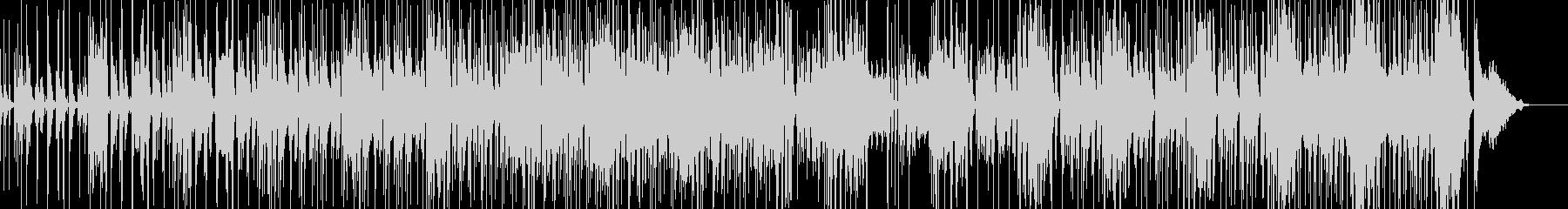 コメディ・ギャグにマッチするBGMの未再生の波形