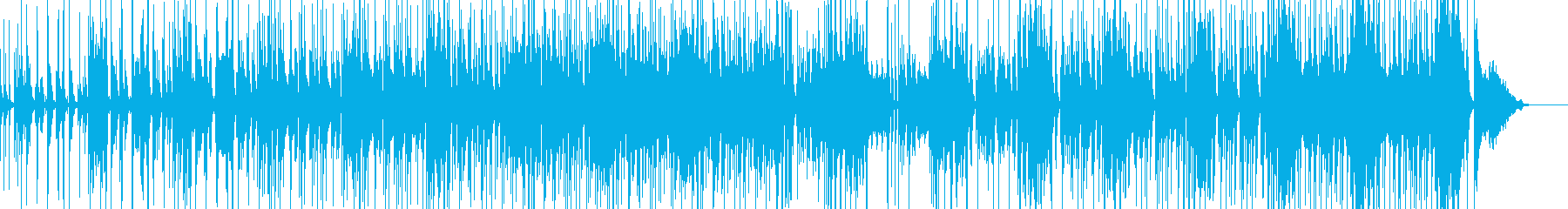 コメディに適したポップス・ベース有の再生済みの波形