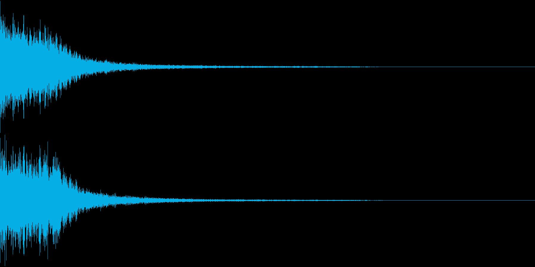 【ホラー】シーン音_04 スリルの再生済みの波形