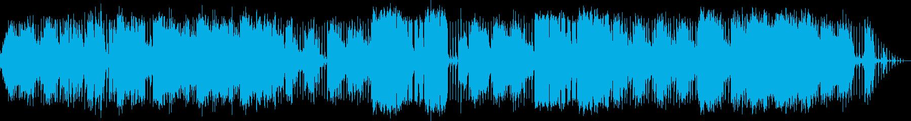 オーガニックなエレクトロの再生済みの波形
