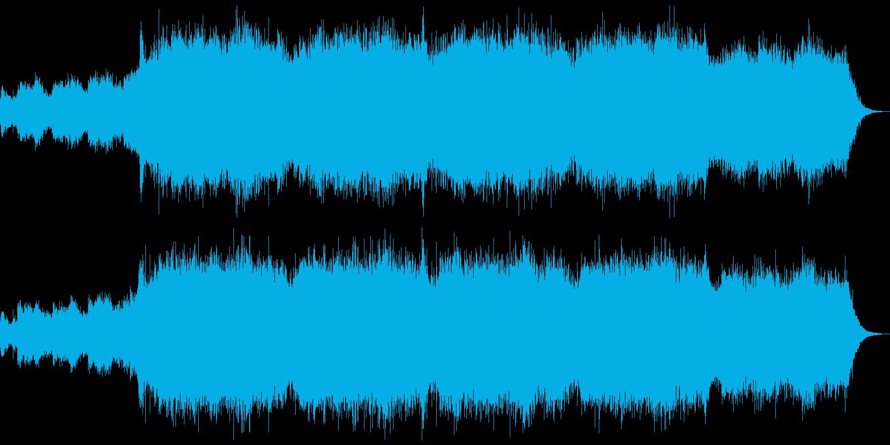 神秘的アンビエント、テクスチャーの再生済みの波形