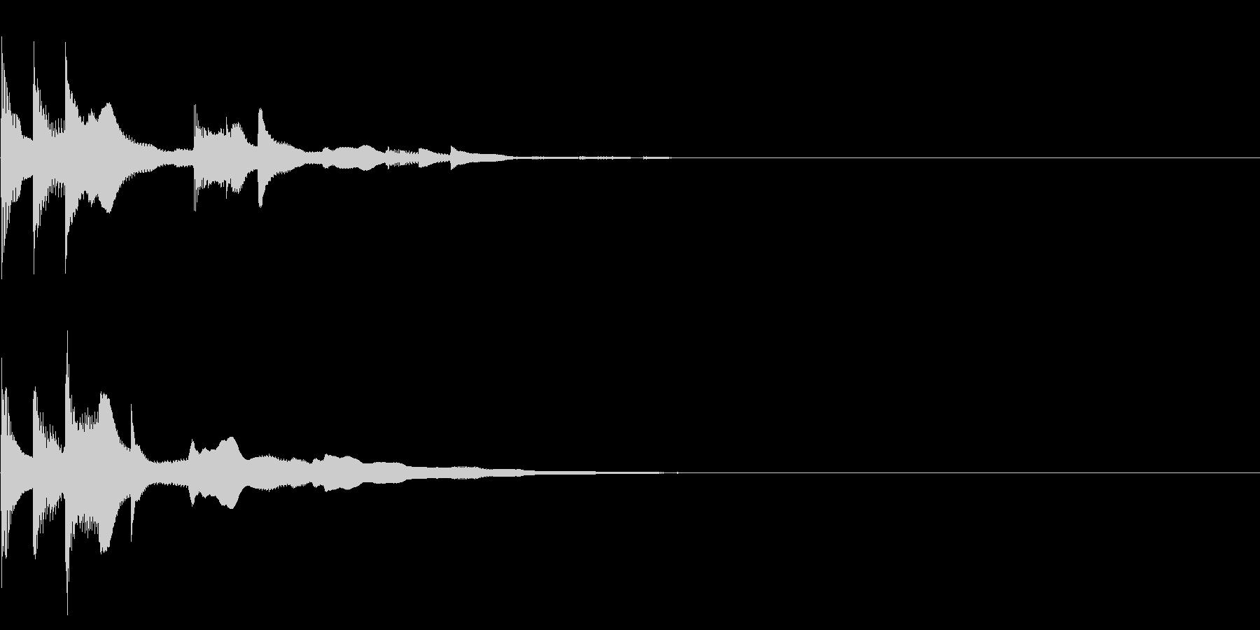 パラランウンララ…(アイキャッチ)の未再生の波形