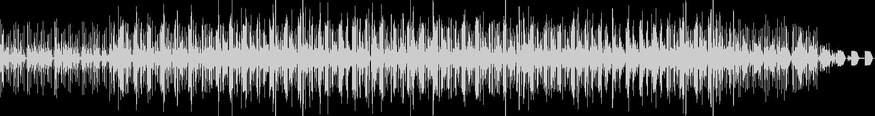 ピアノが入ったループブレイクビーツの未再生の波形
