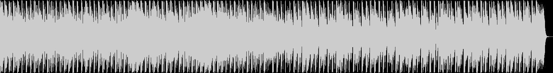 ピコピコした音がかわいいテクノポップの未再生の波形