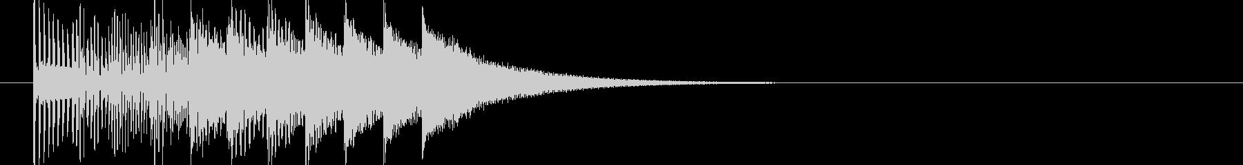 発見(電子音)の未再生の波形