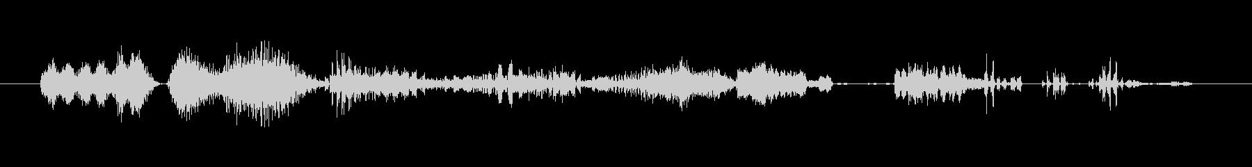 フィクション 電力装置 変動グリッチ01の未再生の波形
