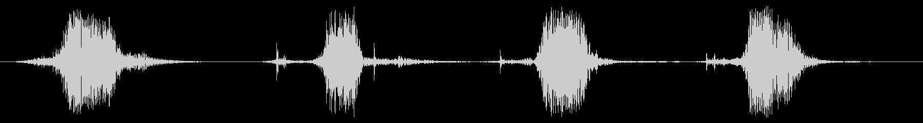 細いロープ:ラピッドマルチプルスウ...の未再生の波形