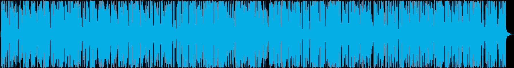 お洒落ハッピー サックス軽快ジャズピアノの再生済みの波形