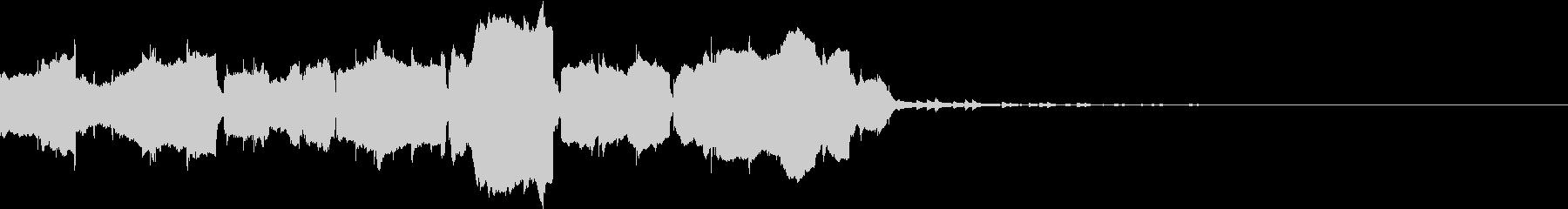 夕方の街頭チャイム 二胡 民族音楽風の未再生の波形