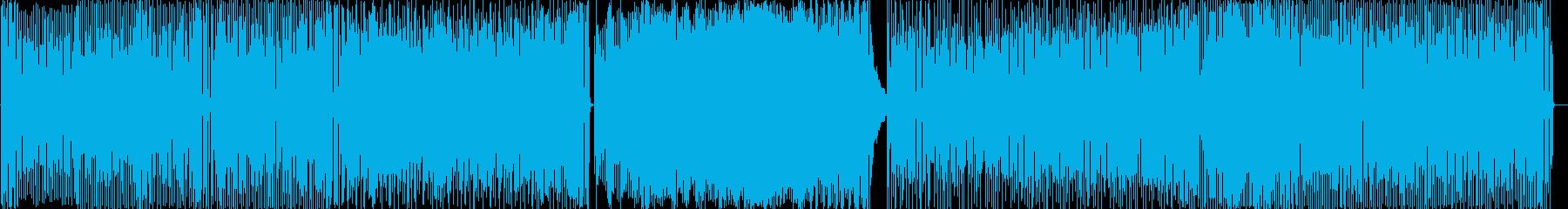 シンセサイザーをメインとしたアップテン…の再生済みの波形