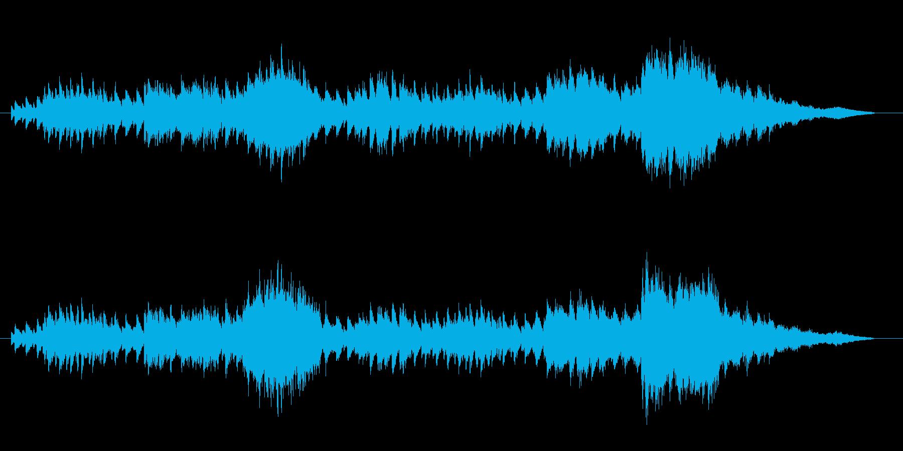 シリアスな雰囲気に合うスローで静かな楽…の再生済みの波形