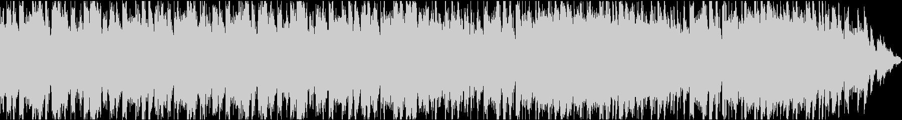 不思議な、少しコミカルなBGMの未再生の波形