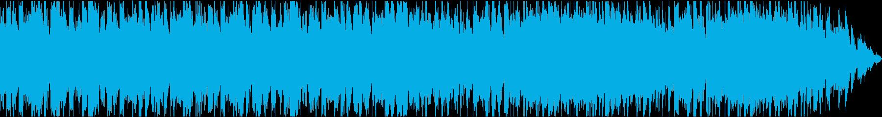 不思議な、少しコミカルなBGMの再生済みの波形
