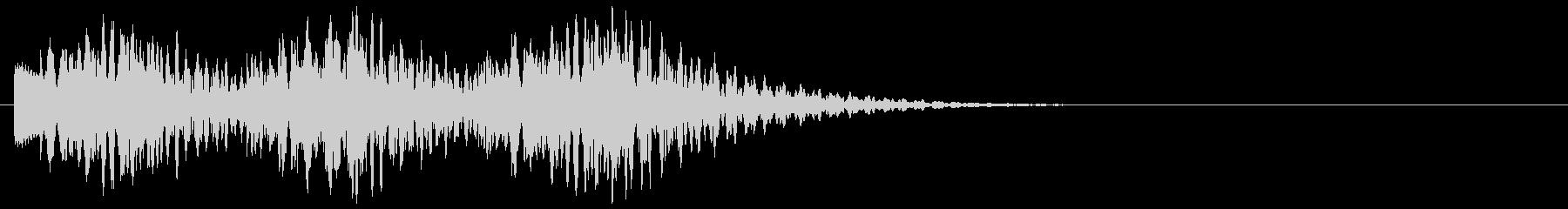 キランキランキラリン(キラキラ系装飾音)の未再生の波形
