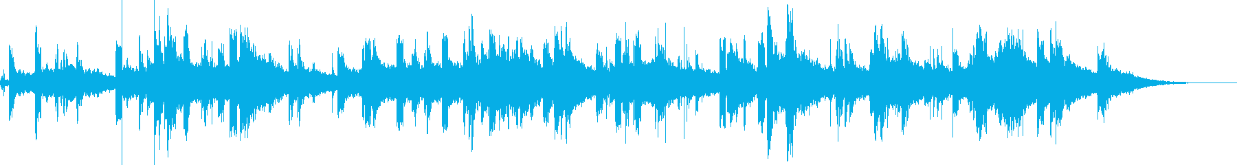 KANT近未来アンビエント01104の再生済みの波形