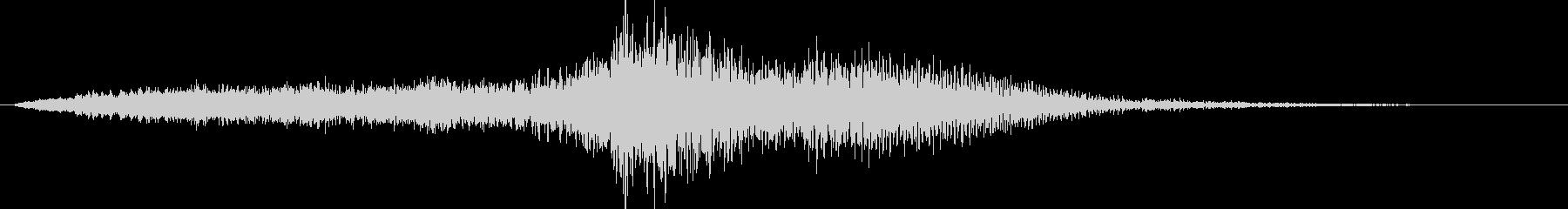 音楽ロゴ;弦楽器による劇的なオーケ...の未再生の波形