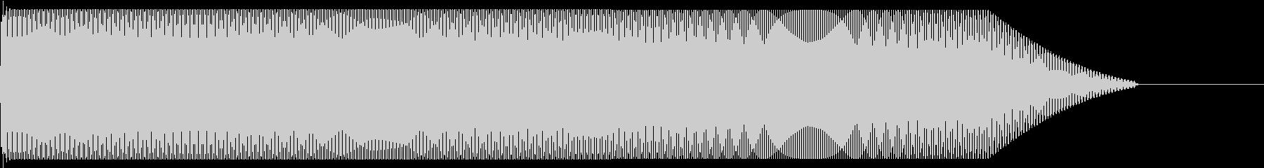 メタルコアベースドロップ D♯2→D♯1の未再生の波形