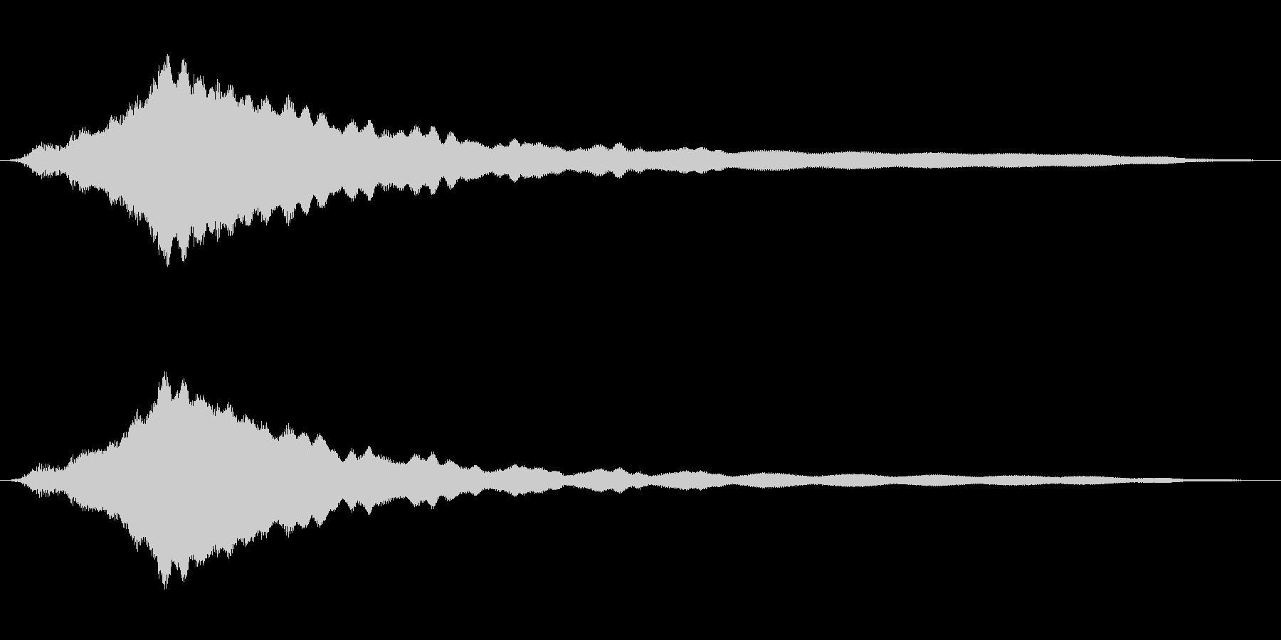 オールドライドシンボルボウCU 5の未再生の波形