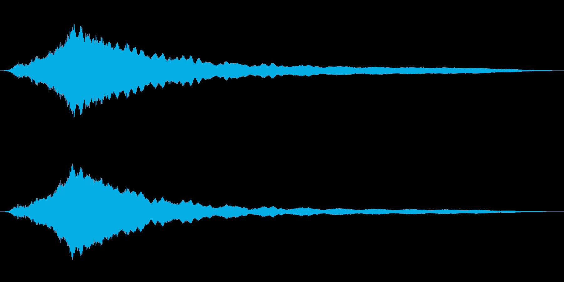 オールドライドシンボルボウCU 5の再生済みの波形