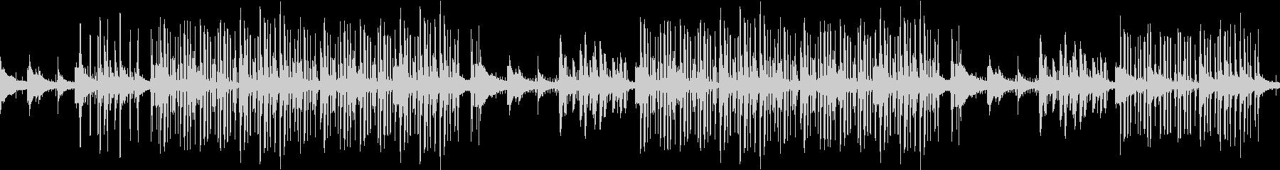 チル・ヒップホップ・夜・ローファイ・エモの未再生の波形