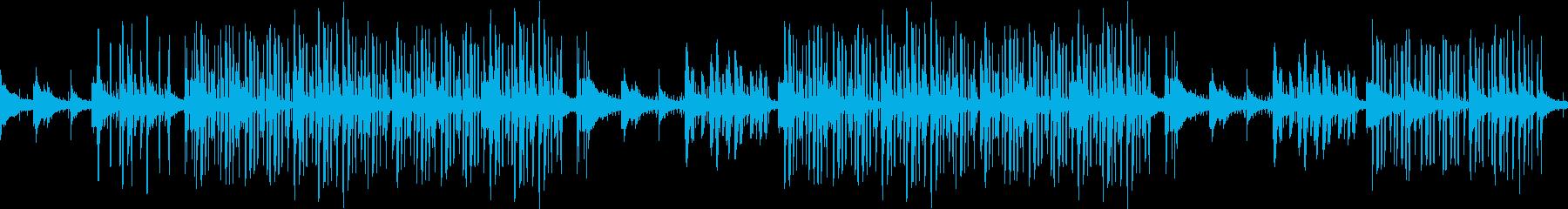 チル・ヒップホップ・夜・ローファイ・エモの再生済みの波形