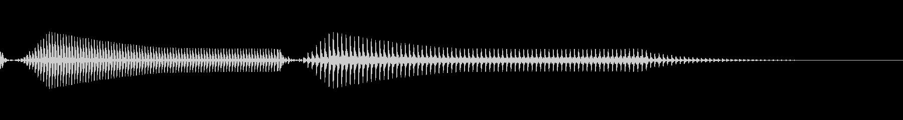懐かしの80年代のPC起動音風 01の未再生の波形