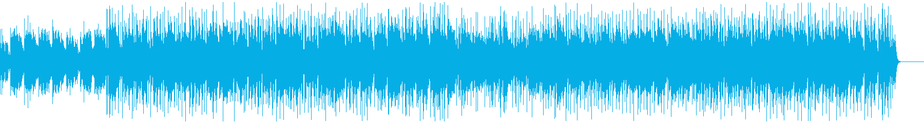 彷徨うエレキギターの再生済みの波形