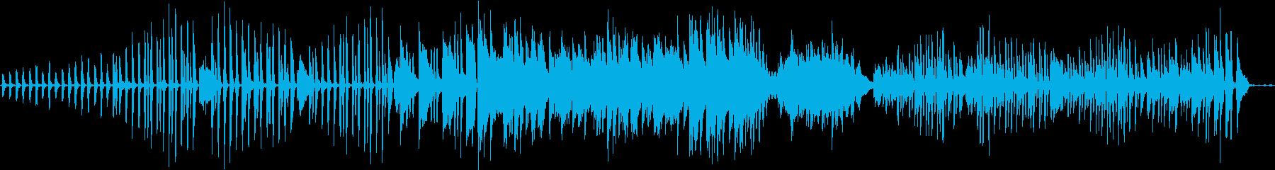 クラシックピアノ生演奏の再生済みの波形