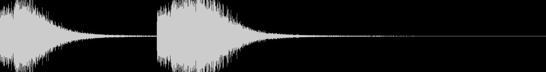 ガシャガシャ(暴れる・ノイズ有り)6の未再生の波形