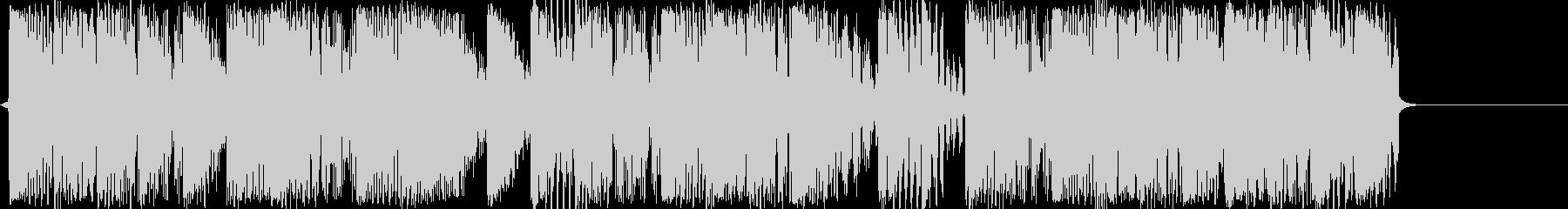 音源作成用のクラブ系ループ音源の未再生の波形